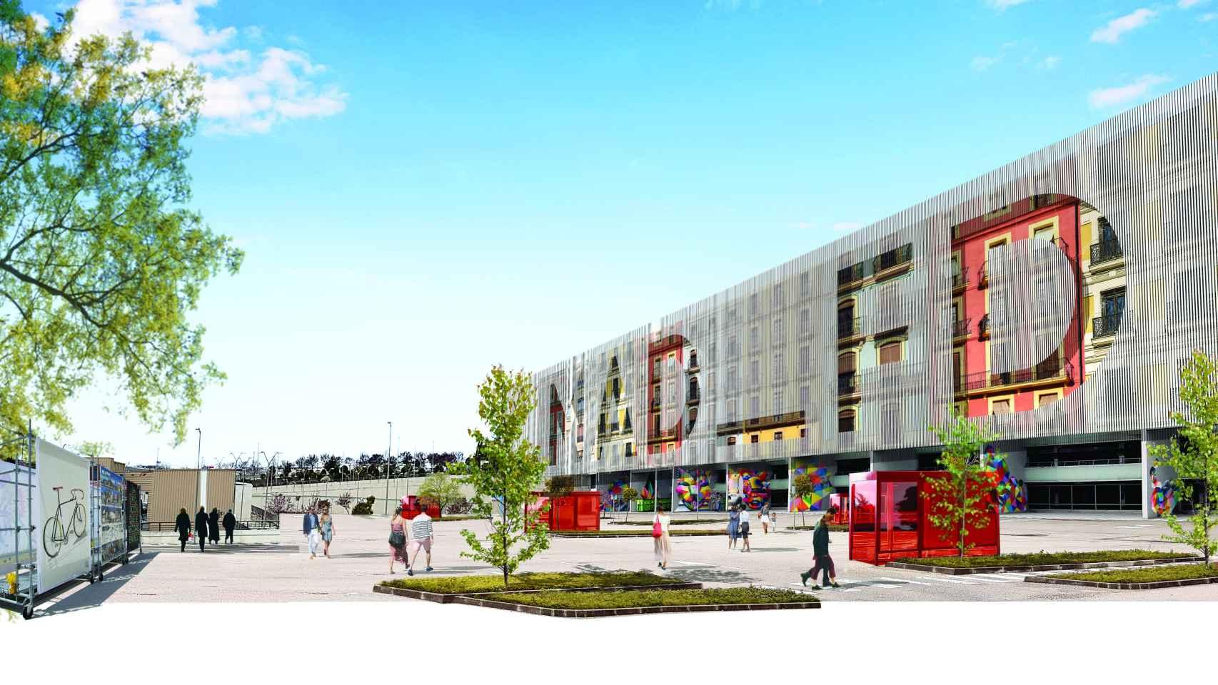 El Corte Inglés reformará por completo el centro comercial de Arroyosur.