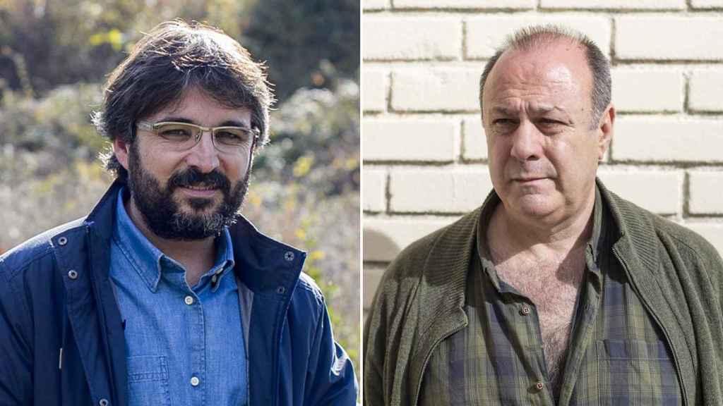 Jordi Évole y Enrique López, presidente de la Asociación Nacional de Narcolepsia.