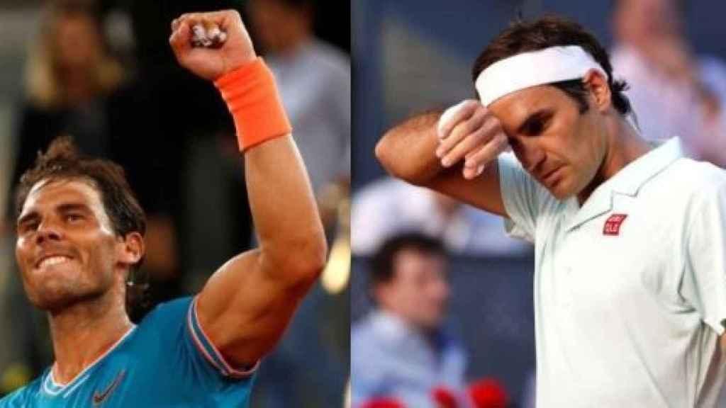 Nadal ganó con soltura frente a Wawrinka y Federer fue derrotado por Thiem