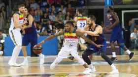 Partido de la primera vuelta entre el MoraBanc Andorra y el Barcelona lassa