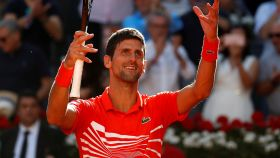 Djokovic tras ganar a Thiem