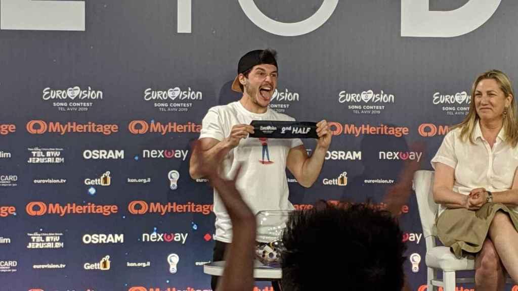 España, pletórica y emocionada tras su segundo ensayo en Eurovisión