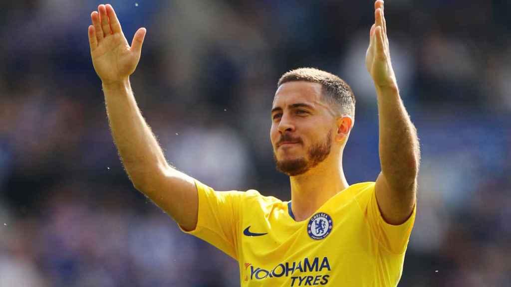 Eden Hazard se despide de la afición del Chelsea