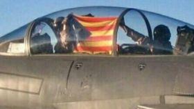 La foto que se ha hecho viral no corresponde al Ejército del Aire.