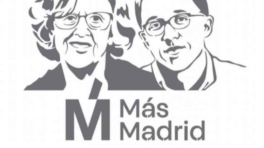 Imagen de los candidatos Manuela Carmena e Íñigo Errejón a la Comunidad de Madrid