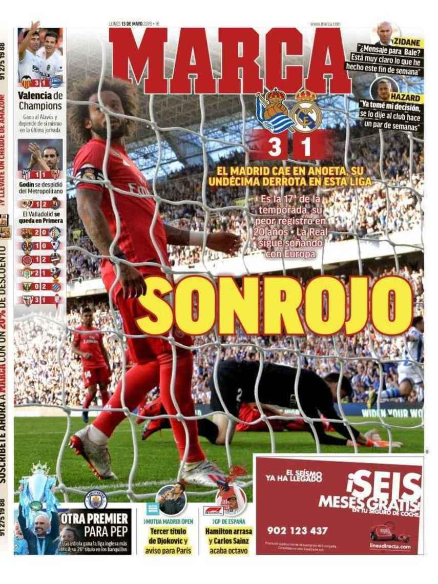La portada del diario MARCA (13/02/2019)