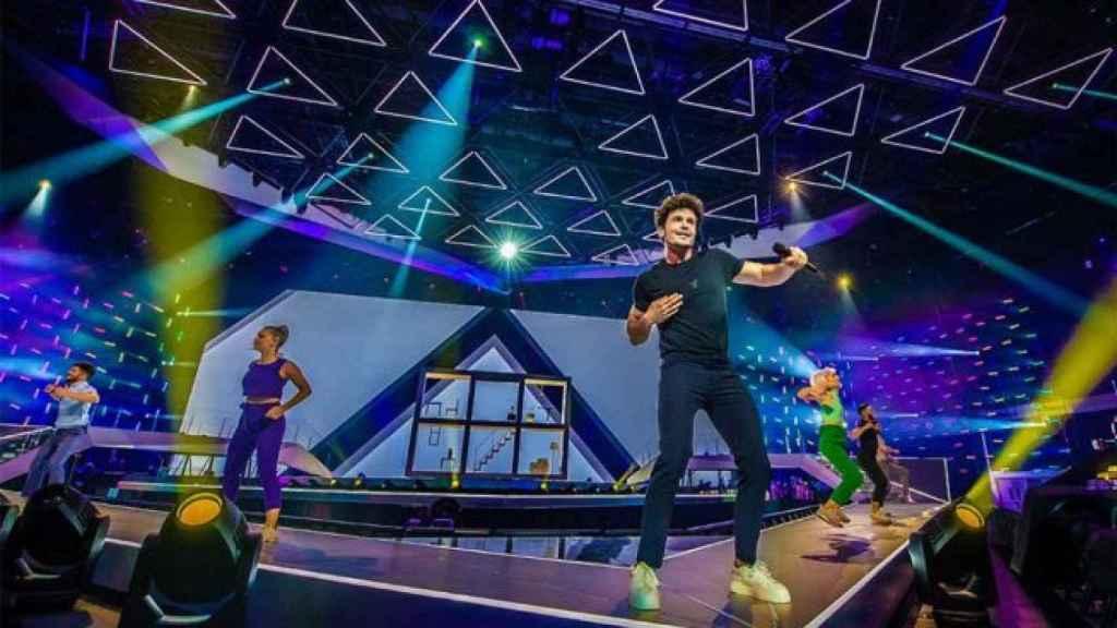 El 'look' de Miki Nuñez para Eurovisión 2019 está firmado por Armani.