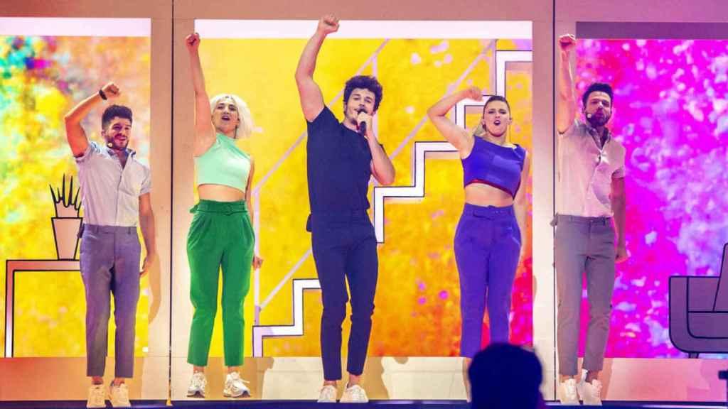 Miki Núñez representará a España con su canción 'La venda'.