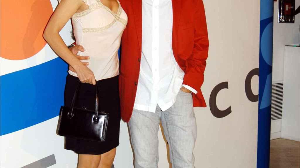Alcayde y Jorge Javier en una imagen de 2005.