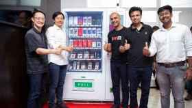 La máquina expendedora de Xiaomi es real y te venderá móviles