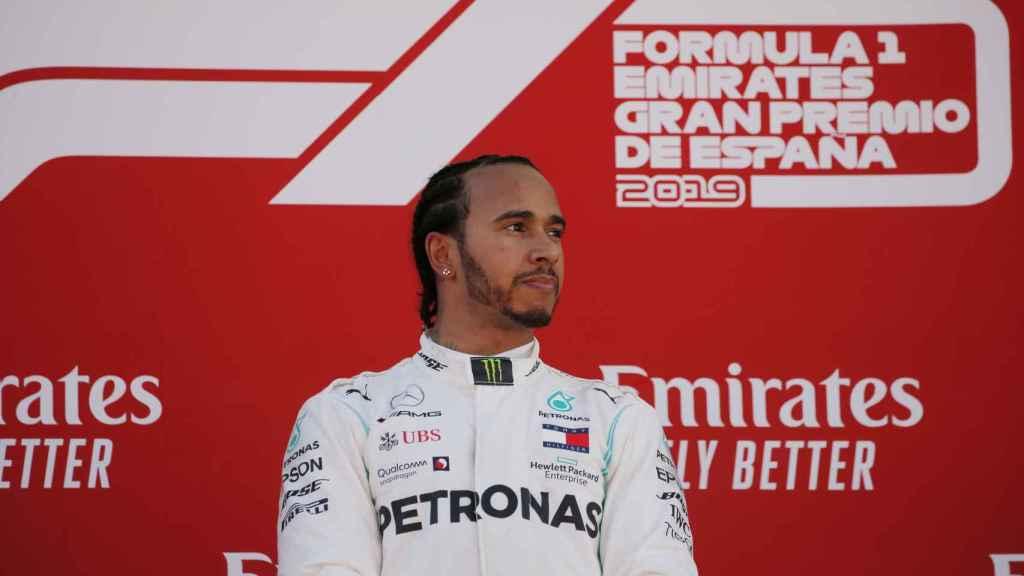 Lewis Hamilton, en el Gran Premio de España de la Fórmula 1
