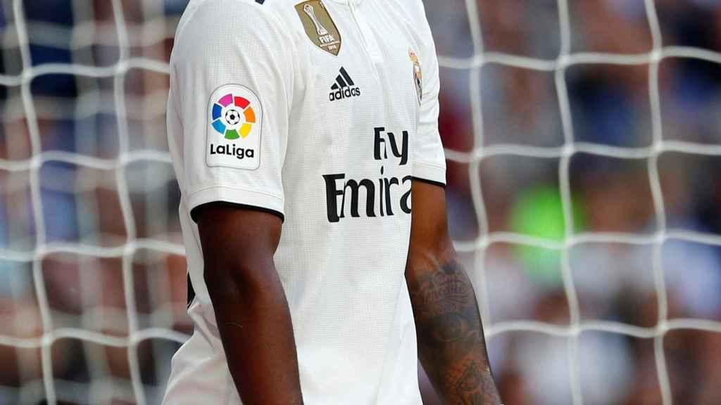 Vinicius Júnior, en un partido del Real Madrid