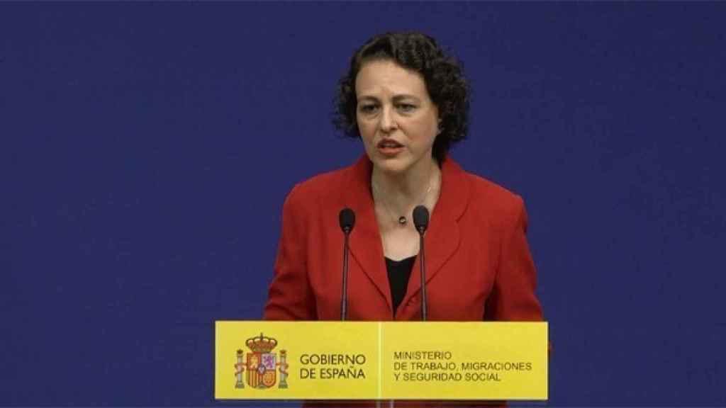 Magdalena Valerio, Ministra de Trabajo, en una imagen de archivo.
