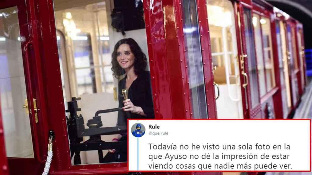 Un 'meme' sobre Isabel Díaz Ayuso.