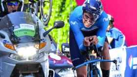 Mikel Landa, durante el Giro de Italia