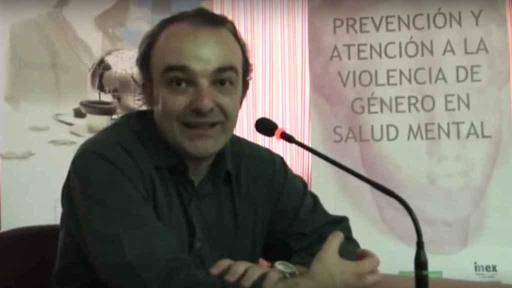 El psiquiatra Antonio Escudero Nafs.
