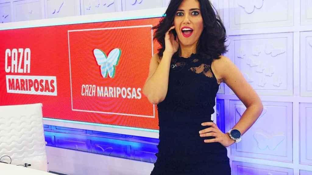 Nuria Marín presentando 'Cazamariposas'.