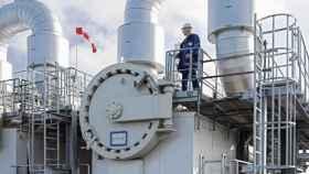 Imagen de una planta industrial.