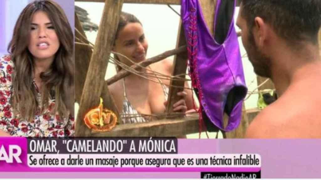 Isa Pantoja comentado el programa 'Supervivientes'.