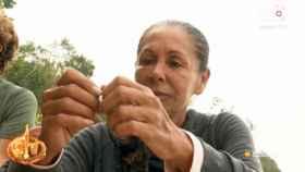 Isabel Pantoja durante su participación en 'Supervivientes Tierra de Nadie'.