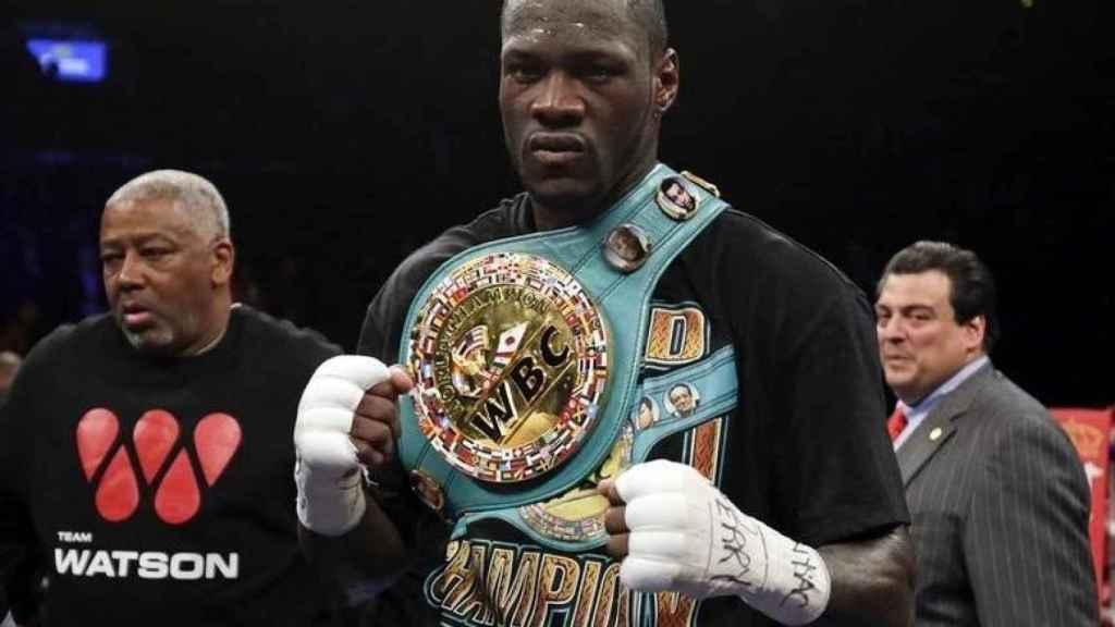 Deontay Wilder, boxeador