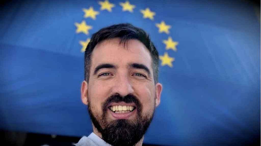 Bruno Sánchez-Andrade, cabeza de lista de Volt Europa en España para las elecciones europeas.