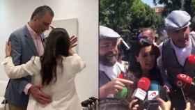 Ensayo y realización del chotis de los candidatos madrileños de Vox.