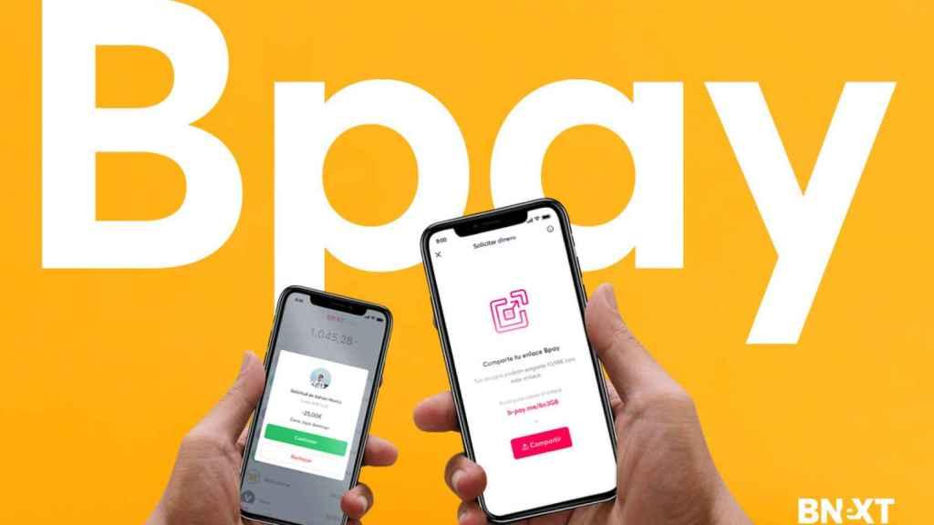 Imagen de Bpay, la app de pagos inmediatos lanzada por Bnext.