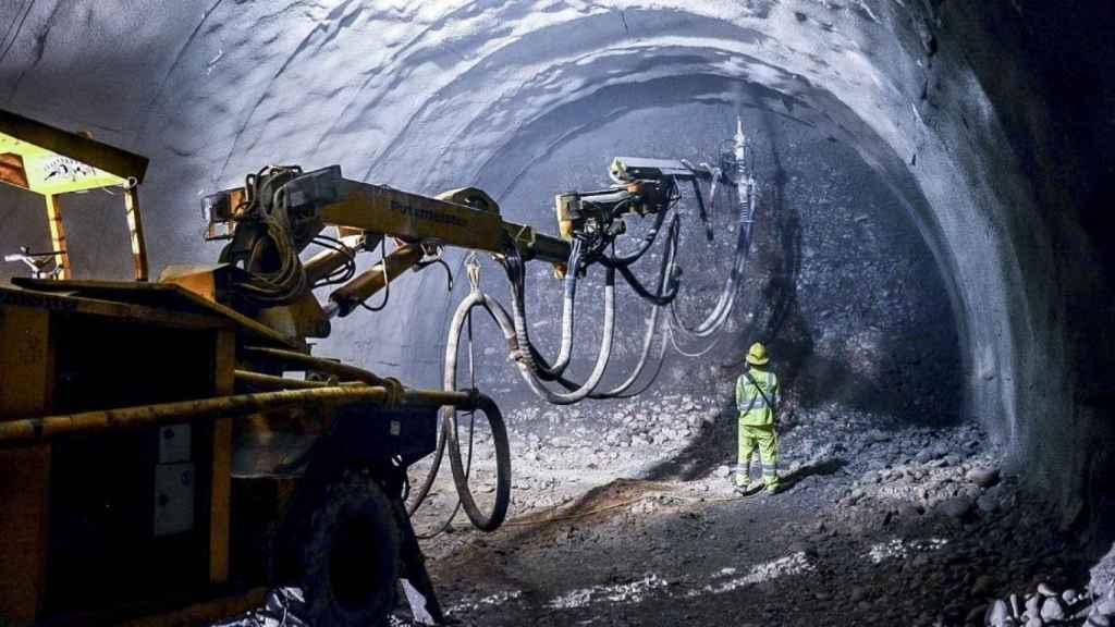 Obras de la línea 2 de metro de Perú realizadas por ACS.