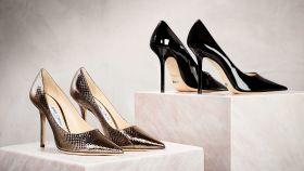 Zapatos de la nueva colección de Jimmy Choo.