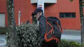 Josu Ternera, momentos antes de ser detenido este jueves en Francia.