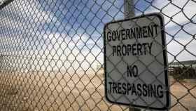 Imagen de un cartel migratorio en EEUU.