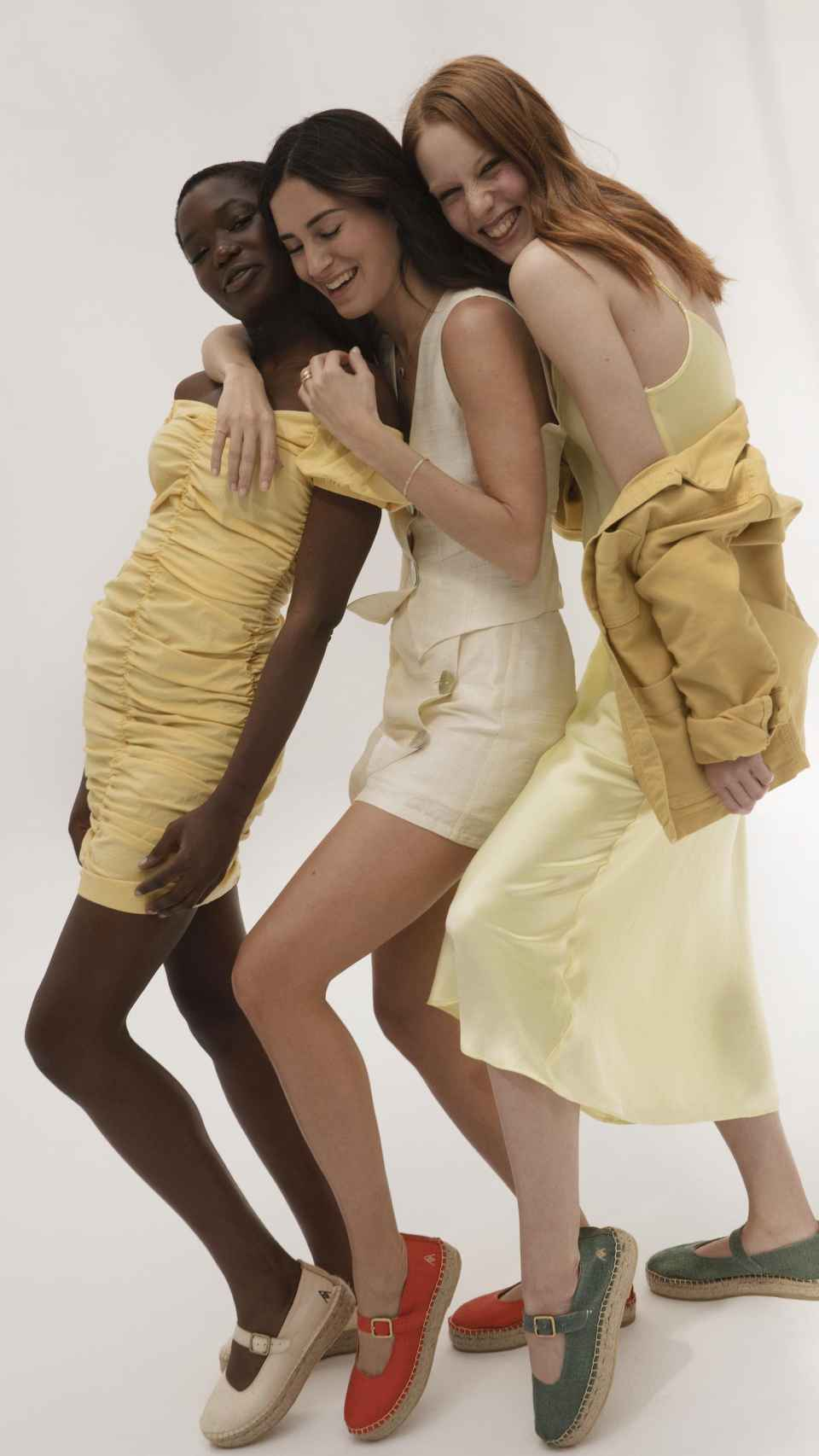 Gala González se ha inspirado en su infancia para crear estos modelos.