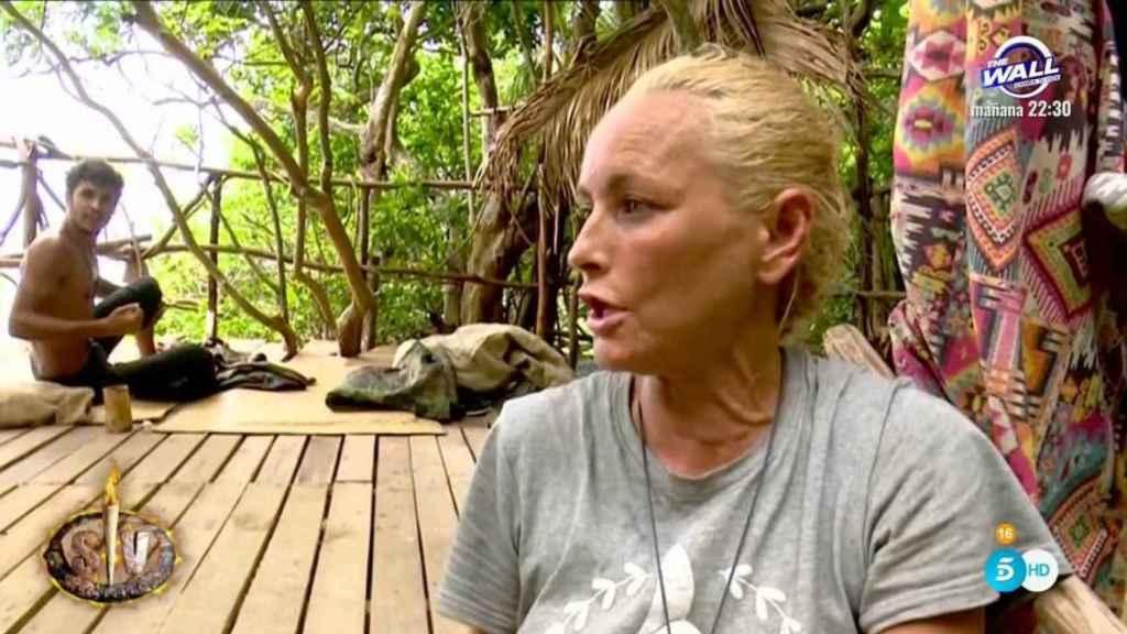 Lucia Pariente abandonó 'Supervivientes' por unos supuestos problemas de convivencia.