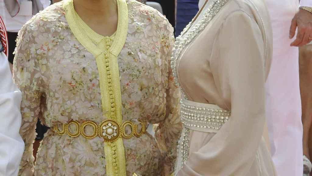 Lalla Meryem y su hija Lalla Soukaina en el año 2011.