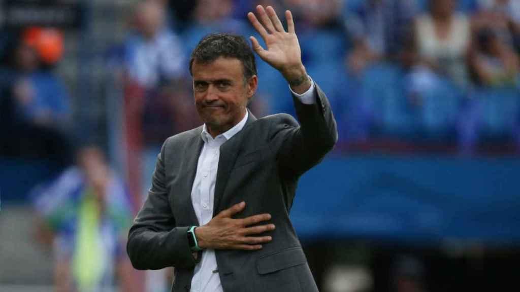 Luis Enrique no continuará al frente de la Selección.