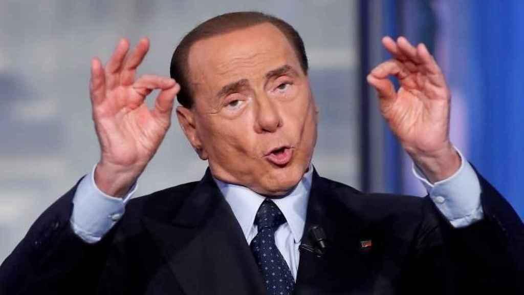 Berlusconi , en una imagen de archivo