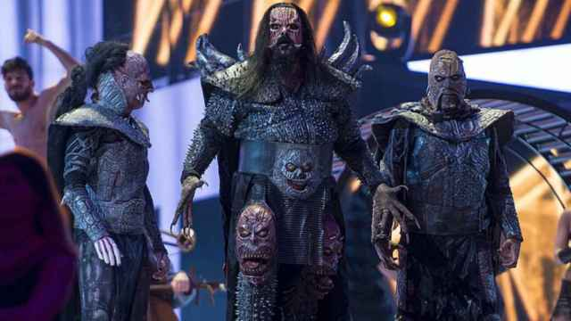El grupo Lordi.