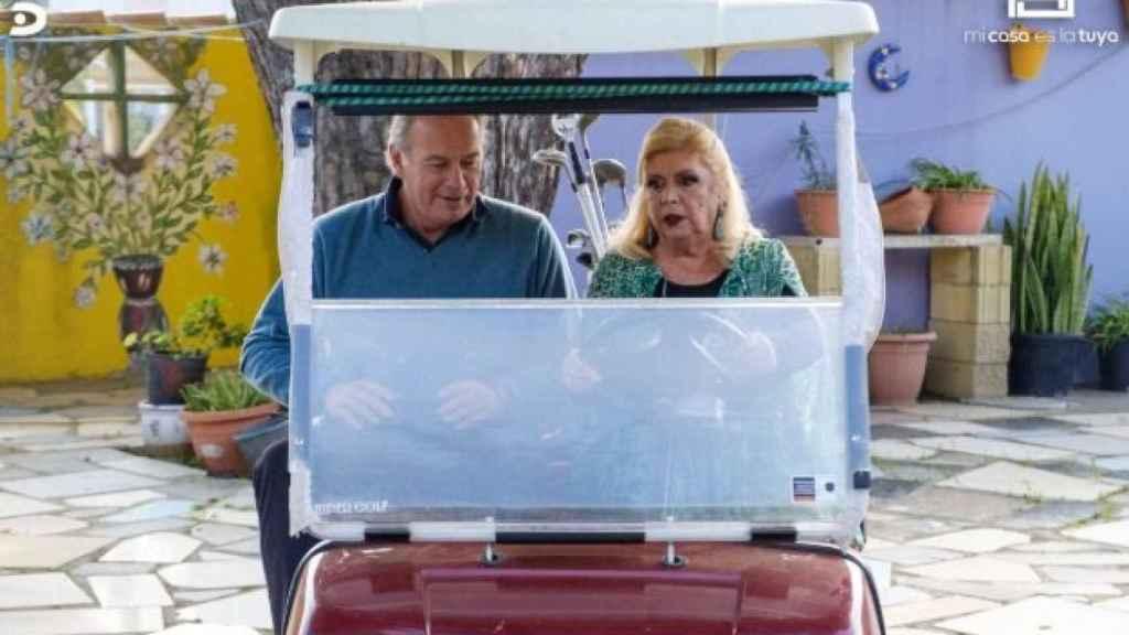 Bertín Osborne y María Jiménez.