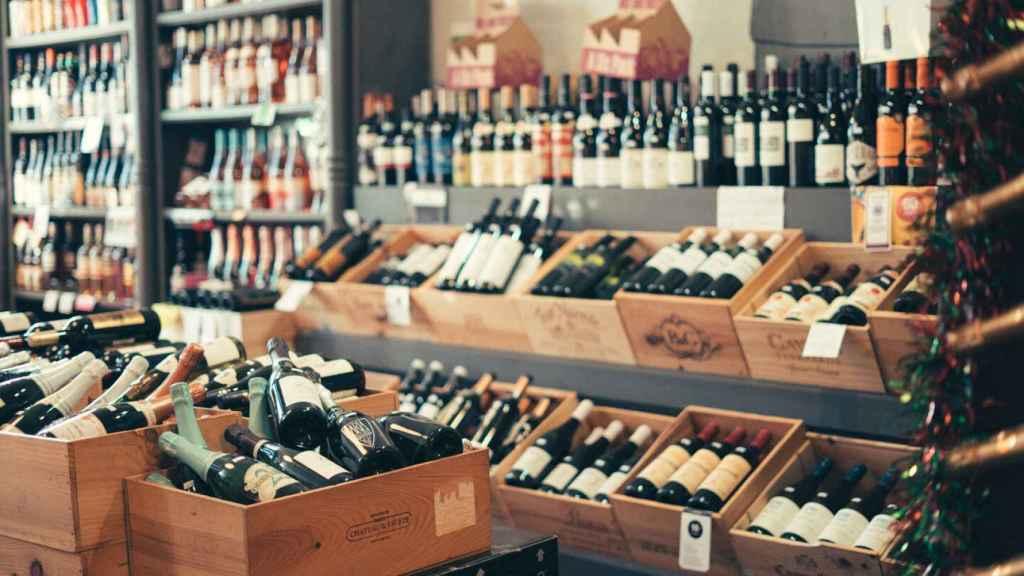 Las tiendas de vino se modernizan