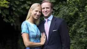 Lady Gabriella Windsor y su prometido, Thomas Kingston.