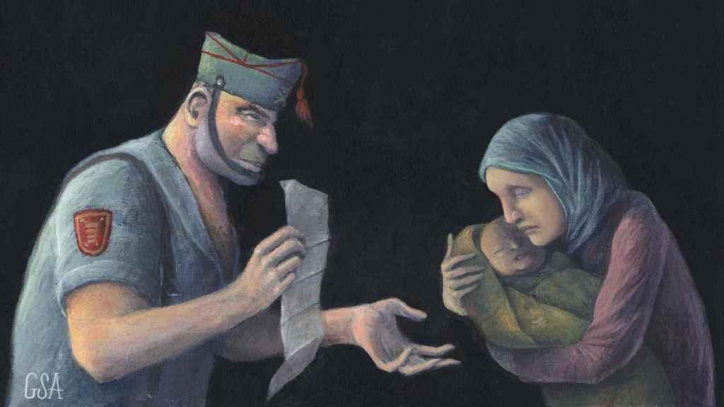 Enrique, el legionario  que no podía tener hijos y compró el bebé a una marroquí.