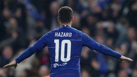 Eden Hazard, con el Chelsea