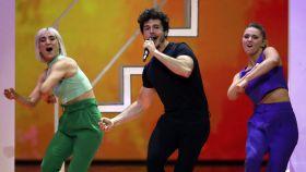 Miki irradió energía sobre el escenario, pero no fue suficiente.