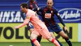 Messi, en un momento del partido