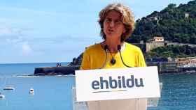 Reyes Carrere, candidata de EH Bildu a la alcaldía de San Sebastián.