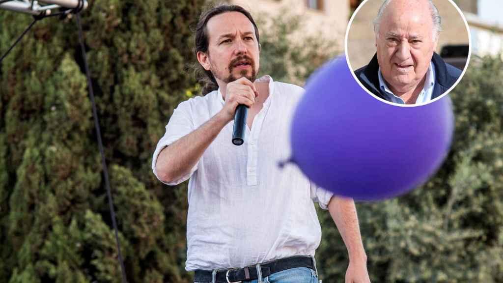 Pablo Iglesias, secretario general de Podemos, durante un mitin en Palma de Mallorca.