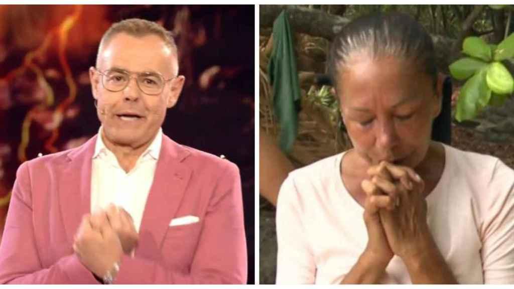 Jordi junto a la crisis de Isabel Pantoja en montaje JALEOS.