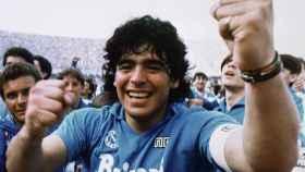 Maradona en el documental.