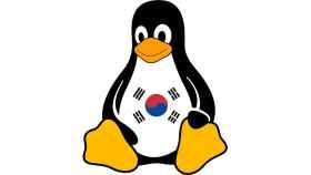 linux tux corea del sur